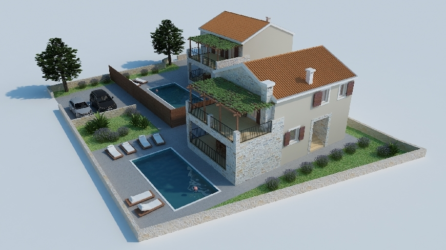 Buy new houses in the Zadar region - panorama scouting gmbh.