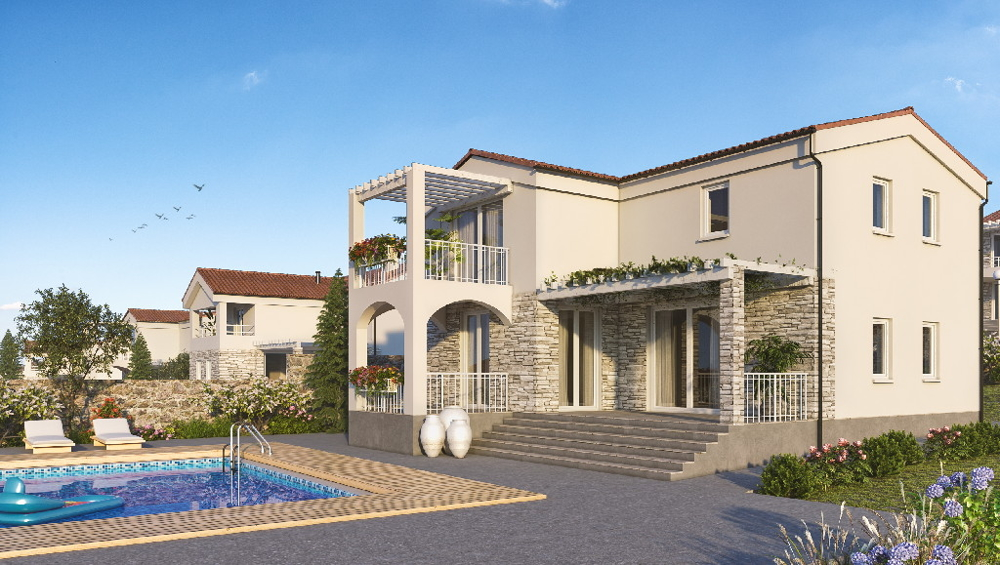 Buy Mediterranean stone house with swimming pool in Istria.
