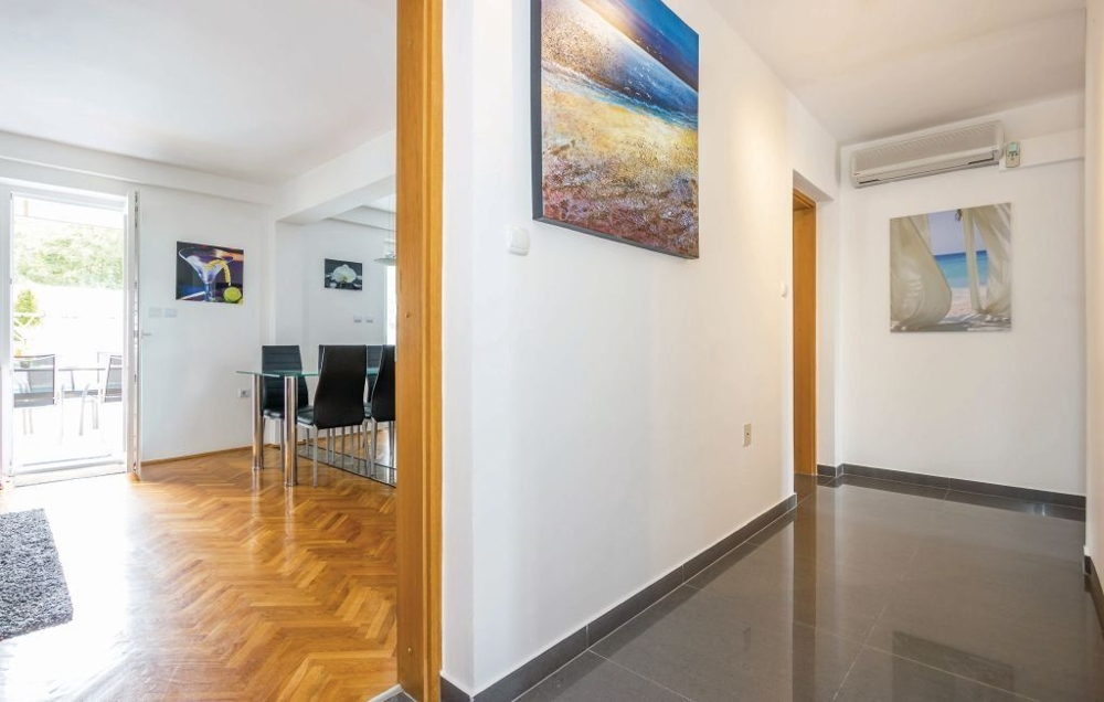 Modern interior of property A1424 in Crikvenica, Croatia.
