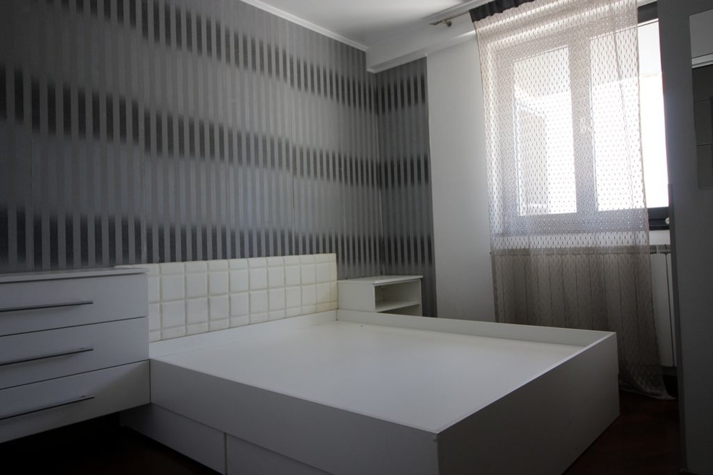 One bedroom with window of property H1443, Rijeka region, Croatia.