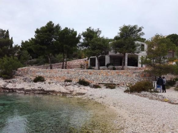 Buy shell of a modern villa by the sea in Croatia - Panorama Scouting.