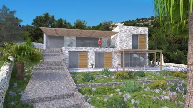 Newly built modern style villa for sale - Panorama Scouting Croatia.