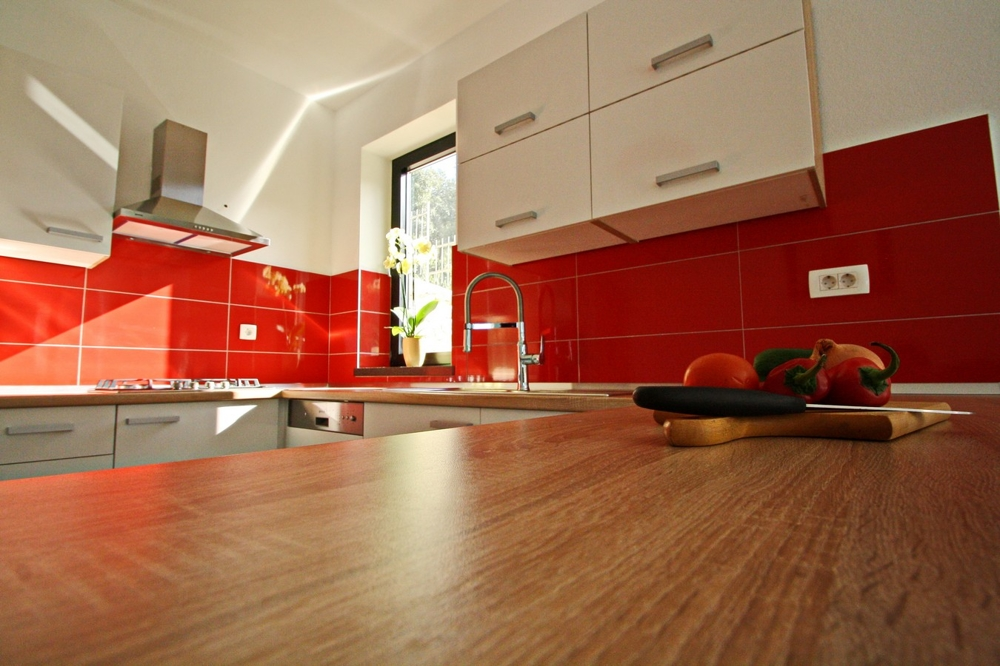 Image of the kitchen of property H1502 on the island of Korcula.