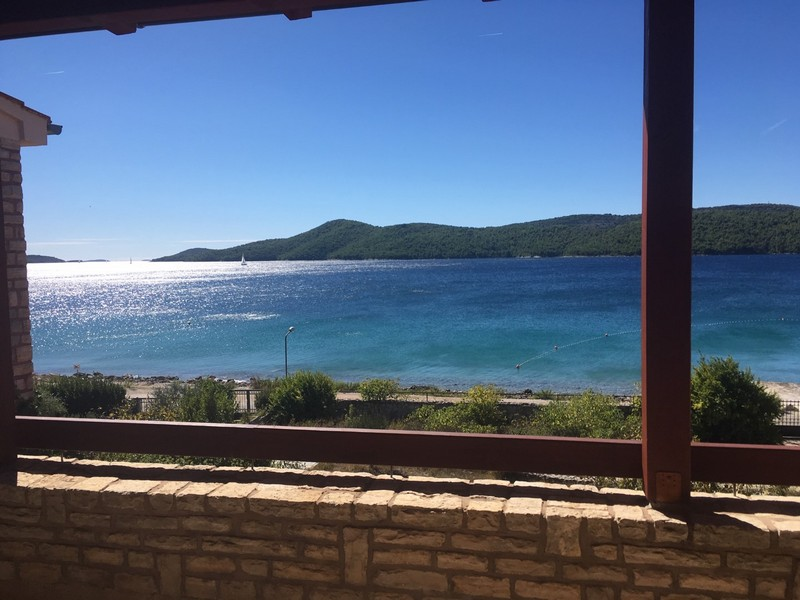 View from the balcony of the sea in front of the house - Buy a house in Croatia.