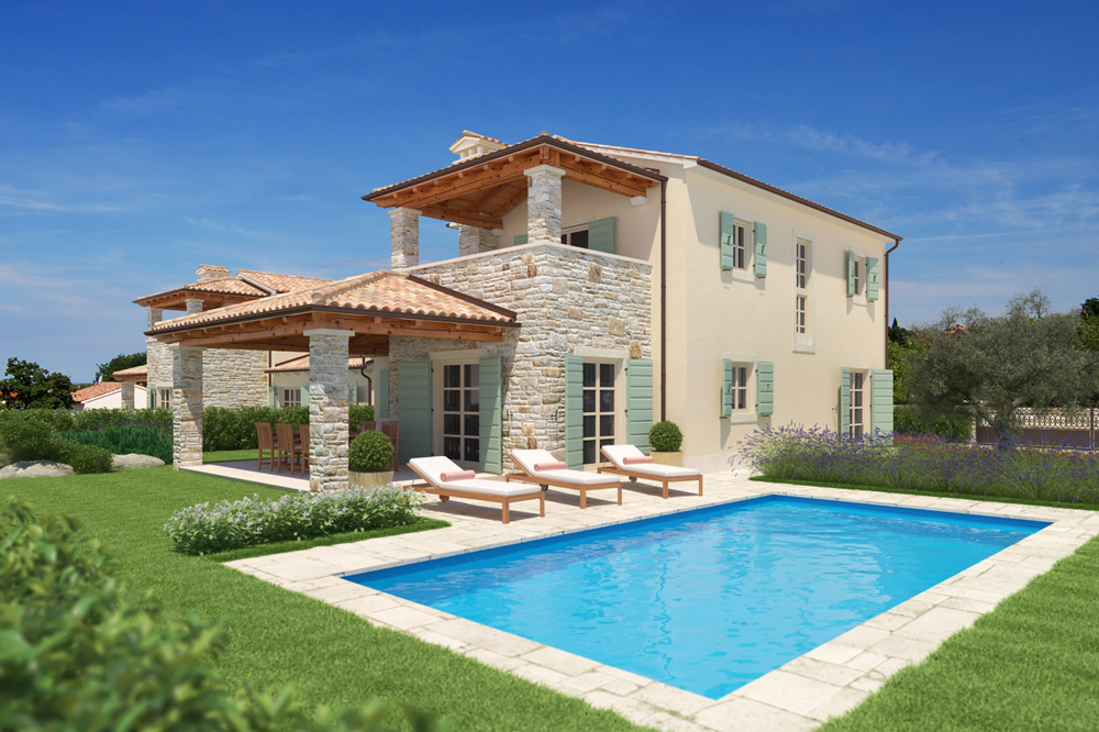 Buy luxury villa in Istria - Panorama Scouting.