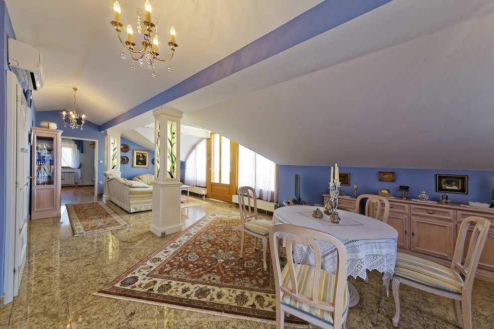 Luxury is also available upstairs in the apartment hotel for sale in Croatia.