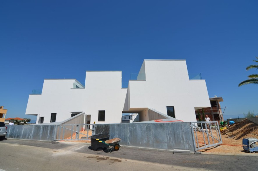 Modern townhouses with sea views in Croatia for sale - Panorama Scouting.