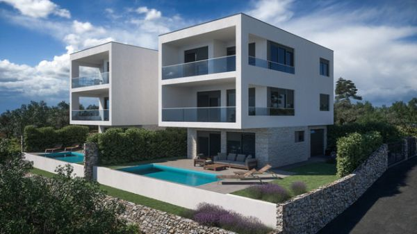 Newly built sea view property in Croatia for sale - Panorama Scouting.