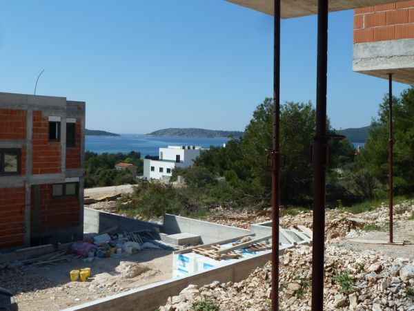 New villa with pool and sea views for sale.