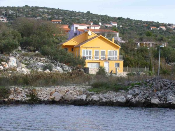House by the sea for sale near Rogoznica in Croatia.