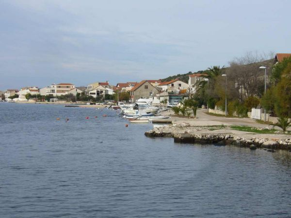Property by the sea in Dalmatia.