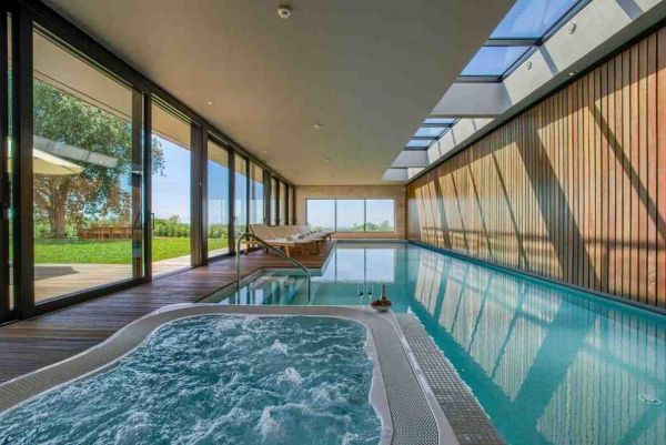 Property with swimming pool in Croatia.