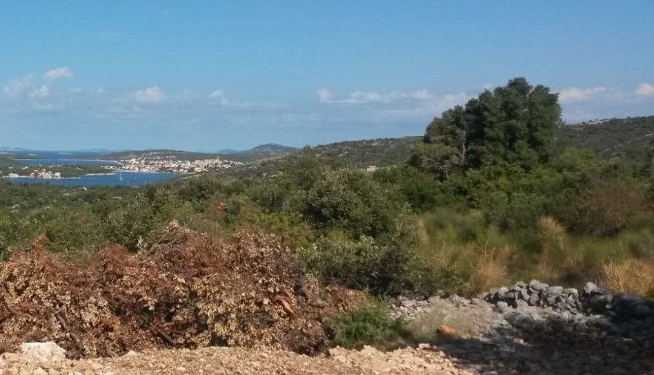 Building plot with sea views in an attractive location, Istria.