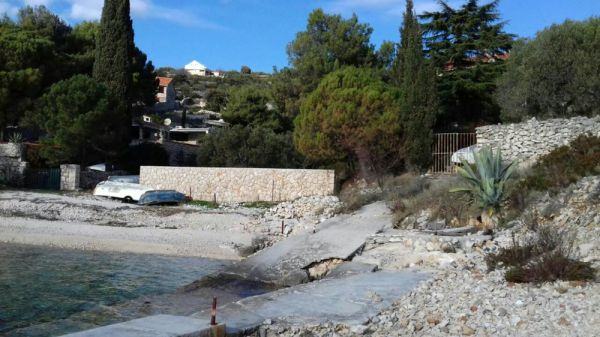 Building Plot for sale by the sea in Croatia.