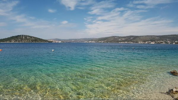 Plots of land directly on the sea in Croatia for sale.