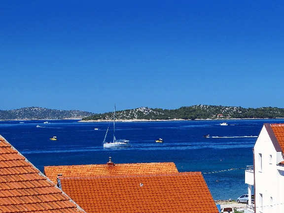 Properties with sea views in Croatia - Apartment A582 in Vodice for sale.