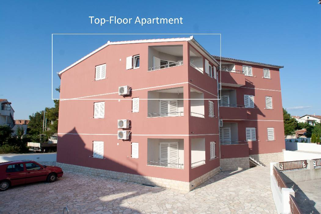 Apartment for sale in Croatia, Vodice - Panorama Scouting.